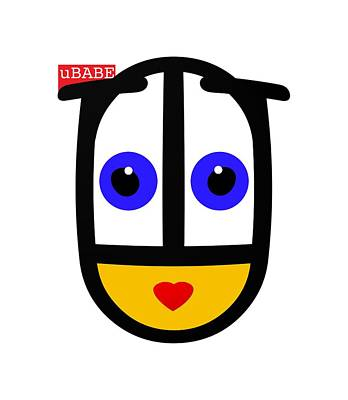 Digital Art - uBABE Logo by Ubabe Style