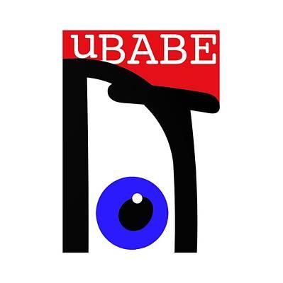 Digital Art - uBABE by Ubabe Style