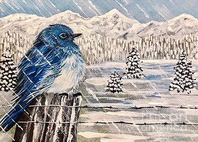 Painting - Ugh Winter by Jennifer Lake