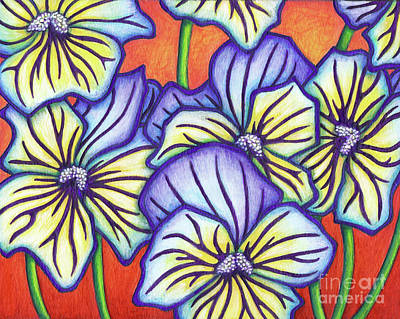 Painting - Ultima Morpho Pansy by Amy E Fraser