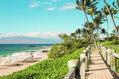 Photograph - Ulua Beach Mokapu Wailea Maui Hawaii by Sharon Mau
