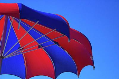 Photograph - Umbrella by Jean Evans