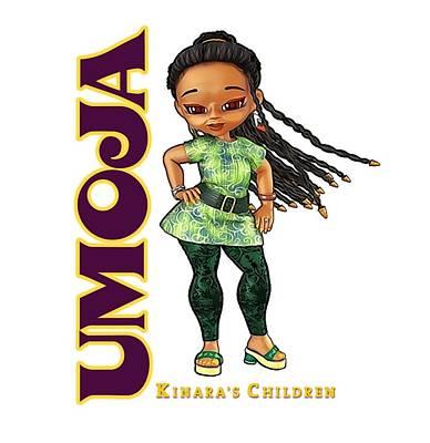 Digital Art - Umoja Is Fun Loving by Darryl Crosby