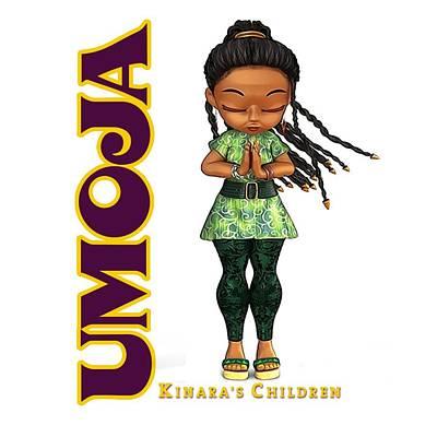 Digital Art - Umoja Is Spiritual by Darryl Crosby