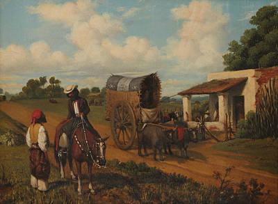 Painting - Un Alto En La Pulperia by Prilidiano Pueyrredon