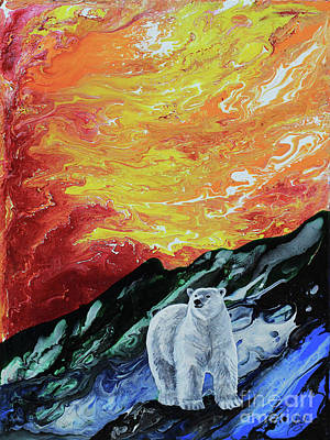 Painting - Unbearable Heat by Shelly Leitheiser