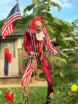 Photograph - Uncle Sam Zombie Detail by Floyd Snyder