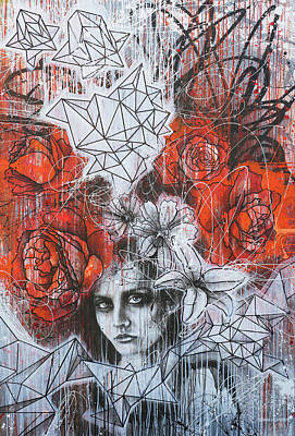 Mixed Media - Unconfined Love by Shane Grammer