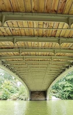 Photograph - Under Bow Bridge 1  by Rob Hans