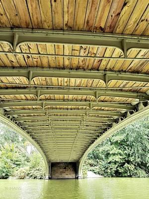 Photograph - Under Bow Bridge by Rob Hans
