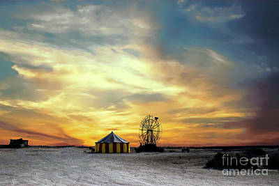 Photograph - Under The Big Top by Sherry Little Fawn Schuessler