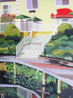 Painting - Under the Boardwalk by Melinda Patrick