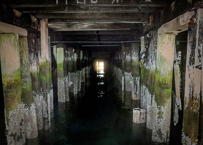 Photograph - Under The Pier by Max Huber