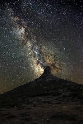 Photograph - Under The Stars To Perda Liana by Daniele Fanni