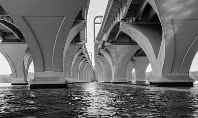 Under The Woodrow Wilson Bridge Art Print