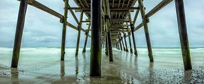 Photograph - Underneath The Pier by Susan Pantuso