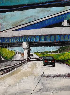 Painting - Underpass Z by Tilly Strauss
