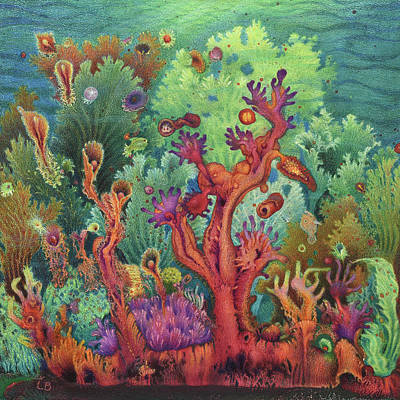 Painting - Undersea I by Lynn Bywaters