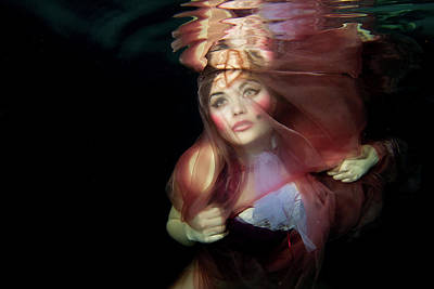 Photograph - Underwater Fashion Photography by Photos By Sonja