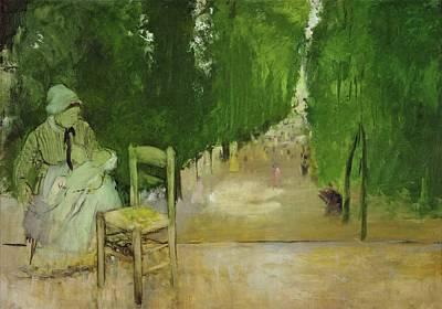 Luxembourg gardens paintings fine art america - Jardin du luxembourg enfant ...