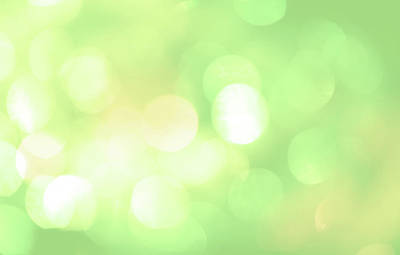 Yellow Photograph - Unfocused Picture Of Lights With A by Asimetric