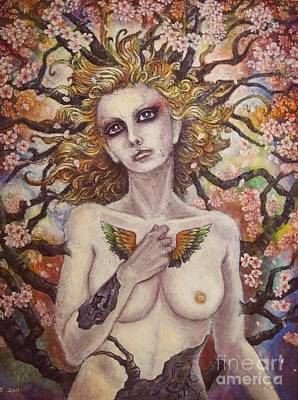 Fantasy Painting - Unio Mystica by Julie Kitamura
