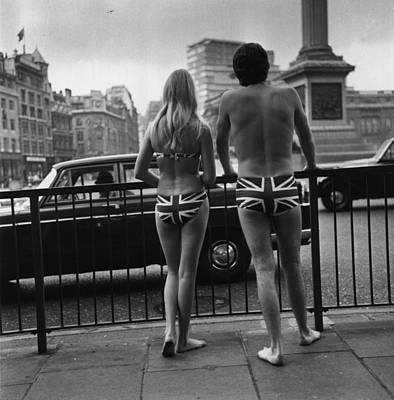 Photograph - Union Jack Trunks by Michael Webb