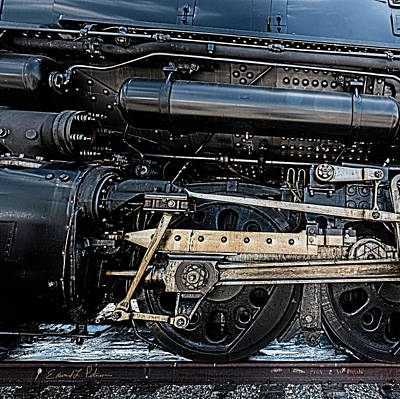 Photograph - Union Pacific Bad Big Boy 4014 by Edward Peterson