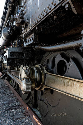 Photograph - Union Pacific Big Boy 4014 Massive by Edward Peterson