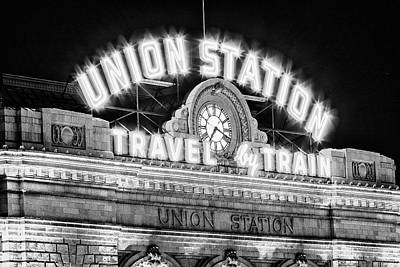 Colorado Ski Art Wall Art - Photograph - Union Station Denver #2 by Stephen Stookey