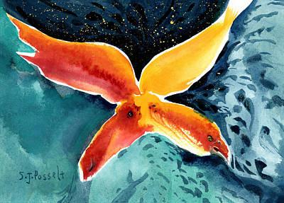 Painting - Universal Journey by Sheri Jo Posselt