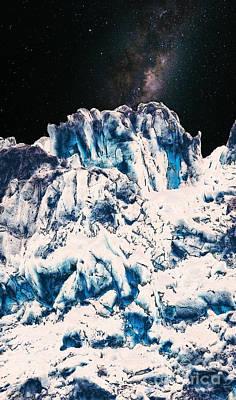 Digital Art - Universe In Winter by Phil Perkins