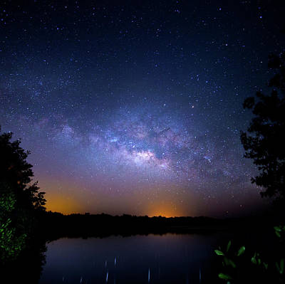 Photograph - Universe Island by Mark Andrew Thomas