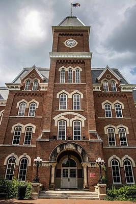 Photograph - University Hall At The Ohio State University  by John McGraw