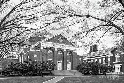 Photograph - University Of Delaware Mitchell Hall by University Icons