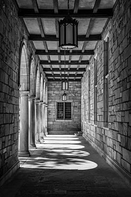 Photograph - University Of Michigan Law Entrance  by John McGraw