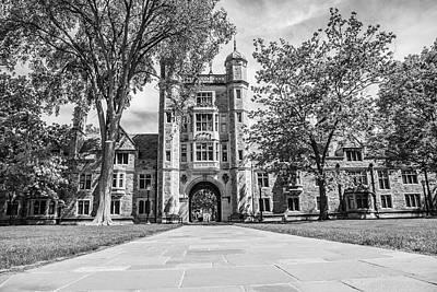 Photograph - University Of Michigan Law Quad  by John McGraw