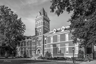 Photograph - University Of Missouri Lafferre Hall by University Icons