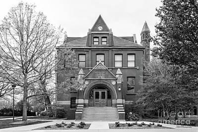 Photograph - University Of Nebraska Architecture Hall by University Icons