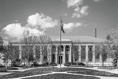 Photograph - University Of Nebraska Chase Hall by University Icons
