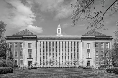 Photograph - University Of Nebraska Love Library by University Icons