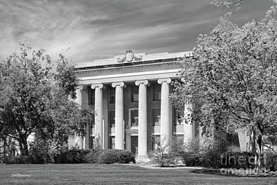 Photograph - University Of Nebraska Pound Hall by University Icons