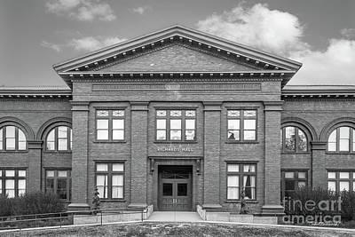 Photograph - University Of Nebraska Richards Hall by University Icons