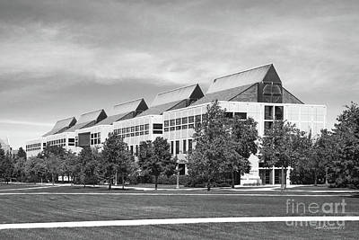 Photograph - University Of Notre Dame De Bartolo Hall by University Icons
