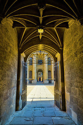 Photograph - University Of Oxford, Bodleian Library by Alan Copson