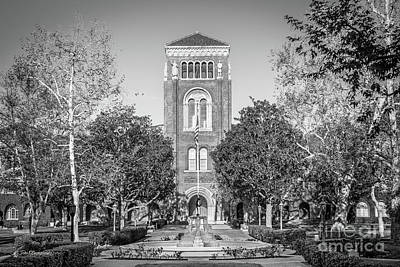 Photograph - University Of Southern California Admin Building by University Icons