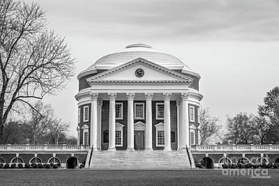 Photograph - University Of Virginia Rotunda by University Icons