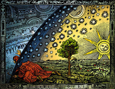 Painting - Universum by Hugo Heikenwaelder