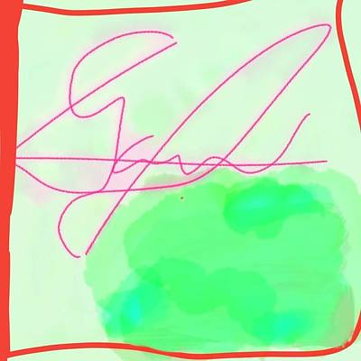 Digital Art - Unknown Signature by Samuel Pye