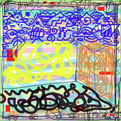 Wall Art - Digital Art - Untitled 2018 by James Sasso